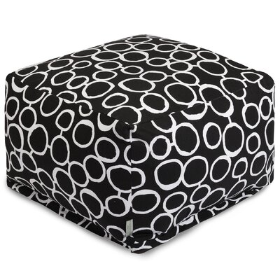 Fusion Pouf Color: Black
