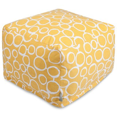 Fusion Pouf Color: Yellow