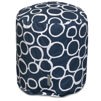 Fusion Pouf Color: Navy