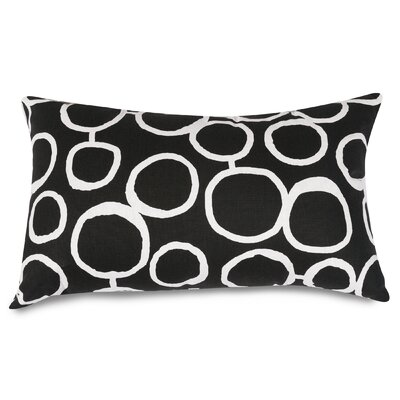 Fusion Lumbar Pillow Color: Black