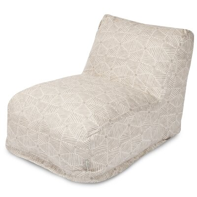 Charlie Bean Bag Lounger Color: Beige