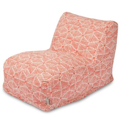 Charlie Bean Bag Lounger Color: Salmon
