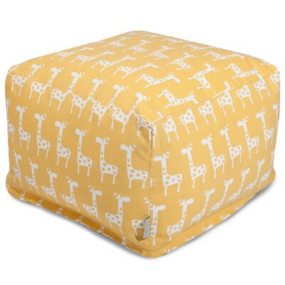 Stretch Ottoman Upholstery Color: Yellow