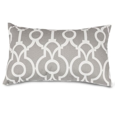 Athens Lumbar Pillow Color: Gray