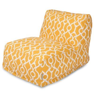 Athens Bean Bag Lounger Color: Citrus