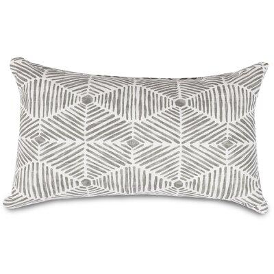 Charlie Lumbar Pillow Color: Gray