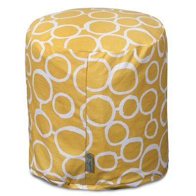 Fusion Pouf Ottoman Color: Yellow