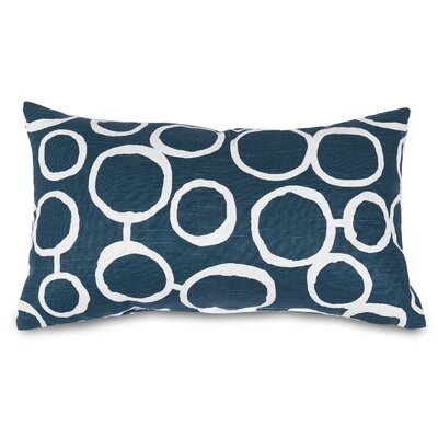 Fusion Lumbar Pillow Color: Navy