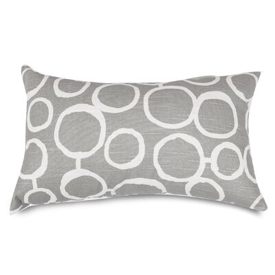 Fusion Lumbar Pillow Color: Gray