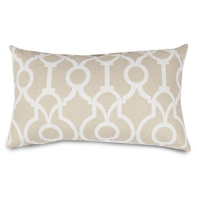 Athens Lumbar Pillow Color: Sand