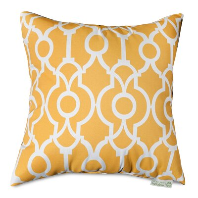 Athens Throw Pillow Size: 20 H x 20 W, Color: Citrus