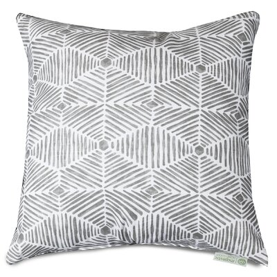 Charlie Throw Pillow Color: Gray, Size: 20 H x 20 W