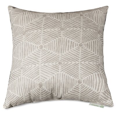 Charlie Throw Pillow Size: 20 H x 20 W, Color: Beige