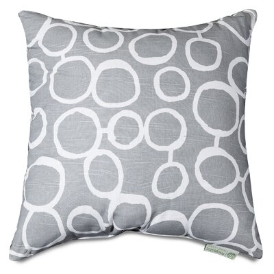 Fusion Throw Pillow Size: 24 H x 24 W, Color: Gray