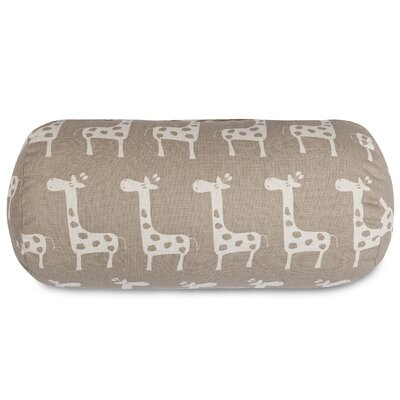 Stretch Bolster Pillow Color: Maple
