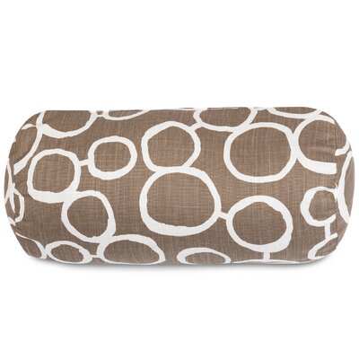 Fusion Round Bolster Pillow Color: Mocha