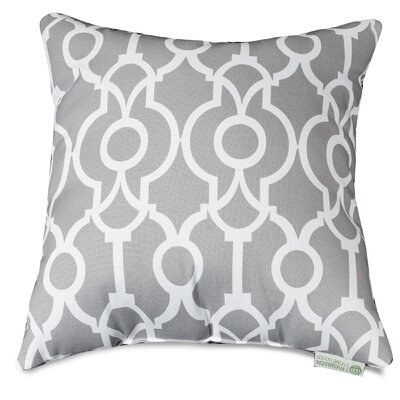Athens Throw Pillow Size: 24 H x 24 W, Color: Gray