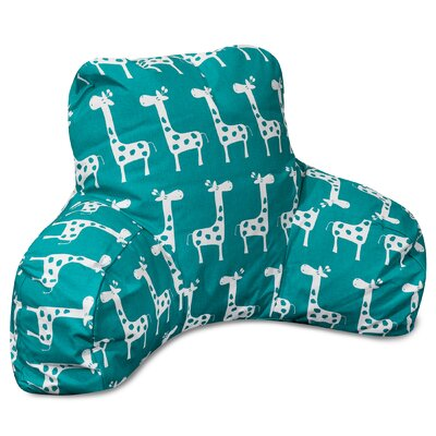 Stretch Bed Rest Pillow Color: Turquoise