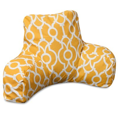 Athens Bed Rest Pillow Color: Citrus