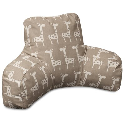 Stretch Bed Rest Pillow Color: Maple