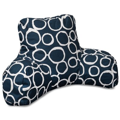 Fusion Bed Rest Pillow Color: Navy