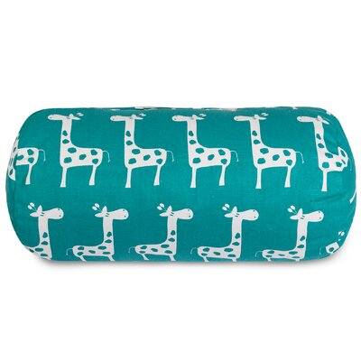 Stretch Bolster Pillow Color: Turquoise