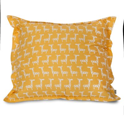 Stretch Floor Pillow Color: Yellow