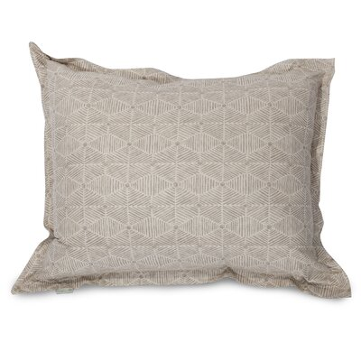 Charlie Floor Pillow Color: Beige
