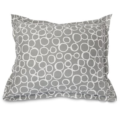 Fusion Floor Pillow Color: Gray