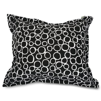 Fusion Floor Pillow Color: Black