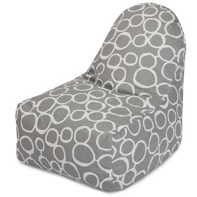 Fusion Bean Bag Lounger Color: Gray
