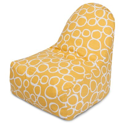 Fusion Bean Bag Lounger Color: Yellow