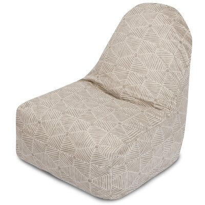 Charlie Bean Bag Chair Color: Beige