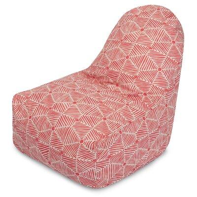 Charlie Bean Bag Chair Color: Salmon