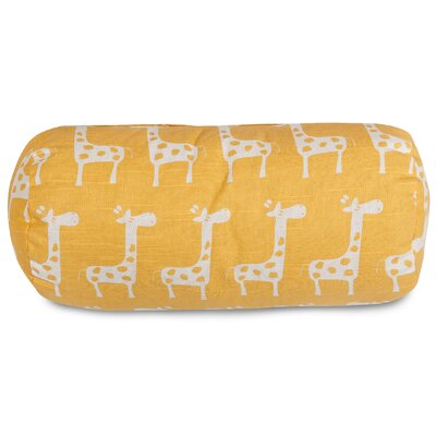 Stretch Bolster Pillow Color: Yellow