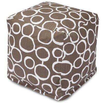 Fusion Cube Ottoman Upholstery Color: Mocha