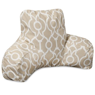 Athens Bed Rest Pillow Color: Sand