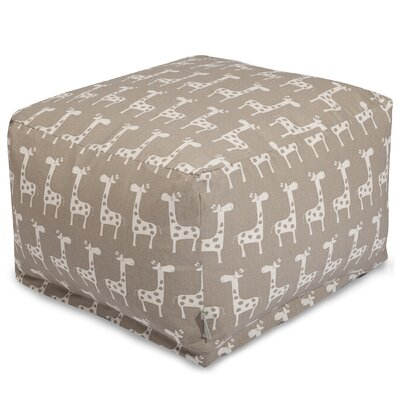 Stretch Ottoman Upholstery Color: Maple