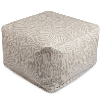 Charlie Ottoman Color: Beige