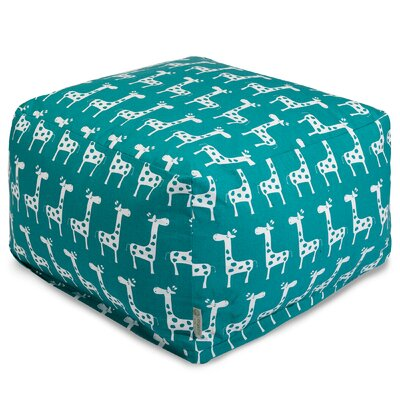 Stretch Ottoman Upholstery Color: Turquoise
