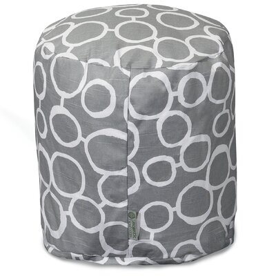 Fusion Pouf Ottoman Color: Gray