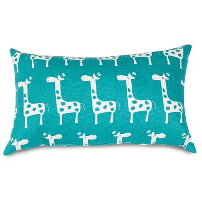 Stretch Lumbar Pillow Color: Turquoise