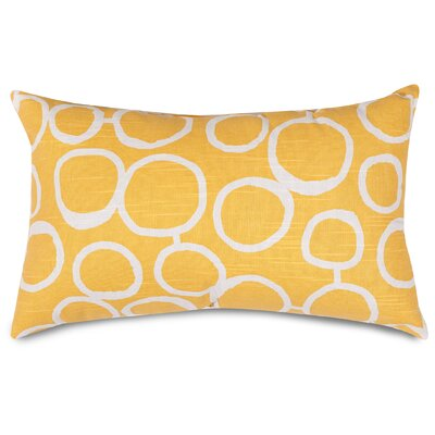 Fusion Lumbar Pillow Color: Yellow
