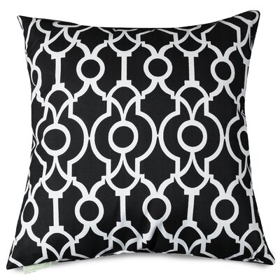 Athens Throw Pillow Size: 20 H x 20 W, Color: Navy