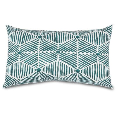 Charlie Lumbar Pillow Color: Emerald