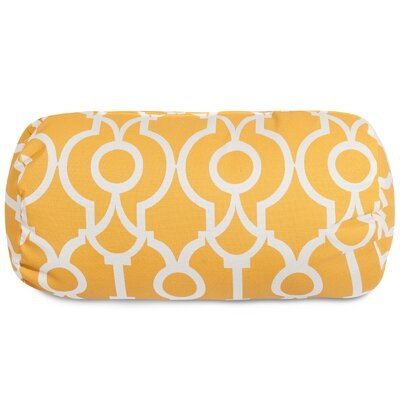 Athens Round Bolster Pillow Color: Citrus