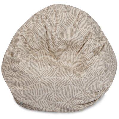 Charlie Classic Bean Bag Chair Color: Beige