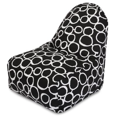 Fusion Bean Bag Lounger Color: Black