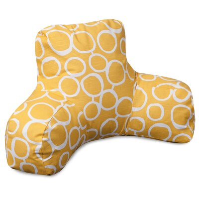 Fusion Bed Rest Pillow Color: Yellow