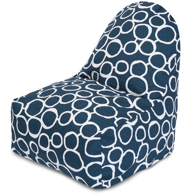Fusion Bean Bag Lounger Color: Navy